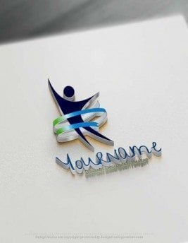 Design Free Logo: Human Logo Template