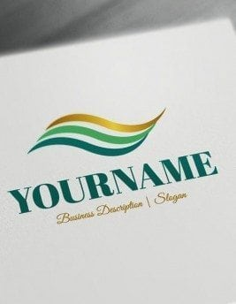 Abstract-lines-Logo-Template