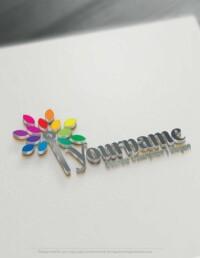 Design Free Logo: Art Tree Online Logo Template