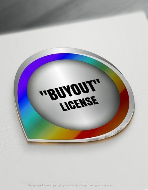 """BUYOUT"" license - The logo be removed from the site and NOT be available to others."