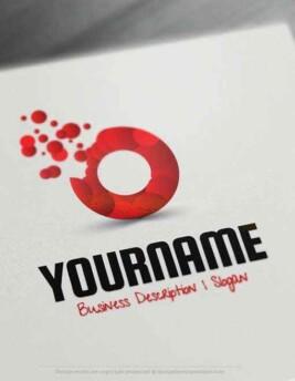 Bubbles-Online-Logo-Template