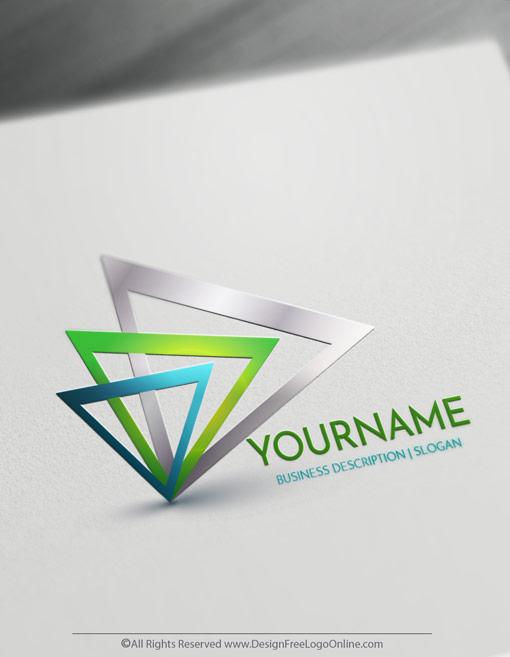 Create Cool Logo Ideas With Triangle Logo Templates