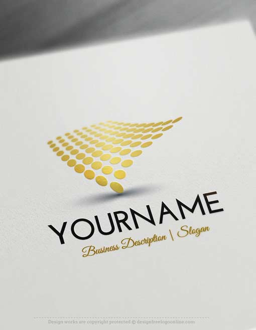 Design-Free-Abstract-digital-Online-Logo-Template