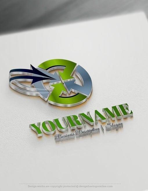 Design-Free-Arrows-Finance-Logo-Template