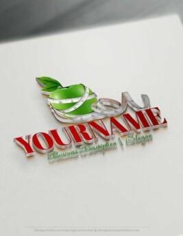 Design-Free-Health-Diet--Online-Logo-Templates