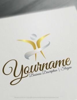 Design-Free-Human-Online-Logo-Template