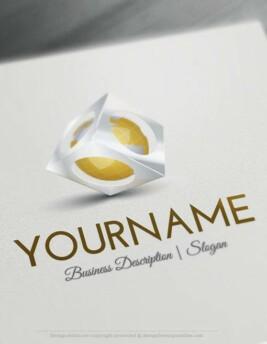 Design-Free-Logo-3D-Globe-online-Logo-Template