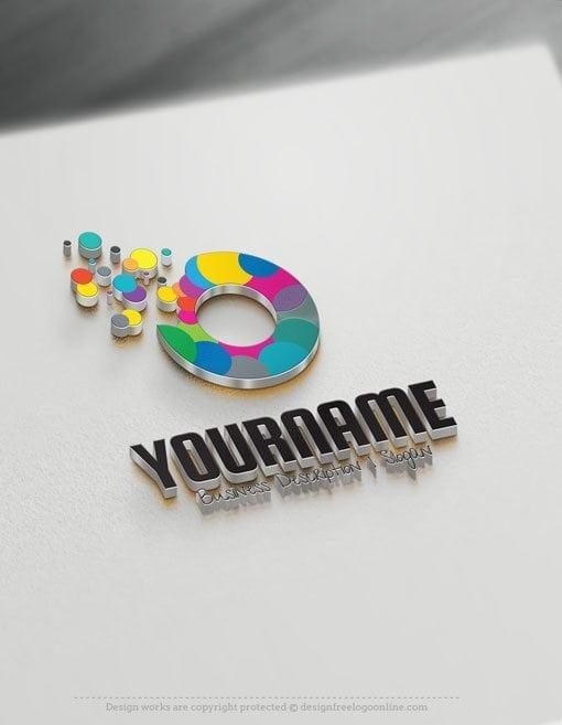 Design-Free-Logo-Art-Bubbles-Online-Logo-Template