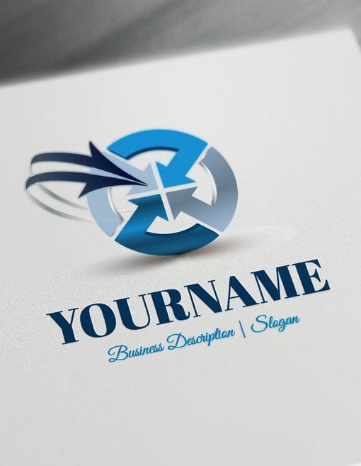 Design-Free-Logo-Online-Arrows-Logos-Template