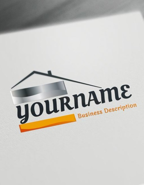 Easily Brand your Real Estate business online with free logo maker app