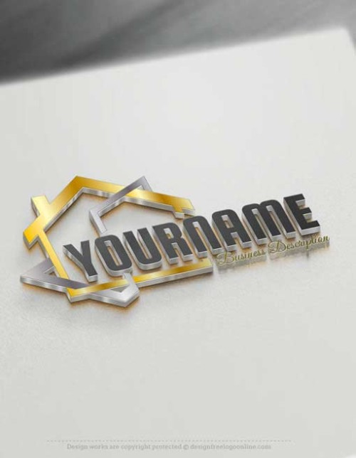 Design Free Logo Real Estate House Template