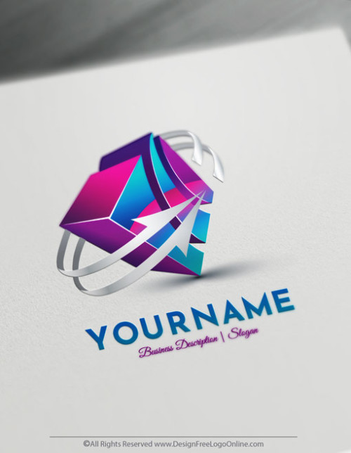 Design Your Own 3D logo using-3d logo maker