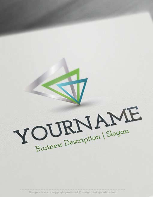 Free-Logo-Abstract-Triangles-Online-Logo-Template