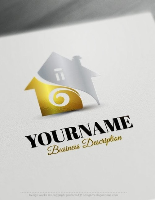 Free-Logo-Real-Estate-House-Template