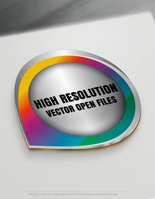 High resolution vector open files of your logo