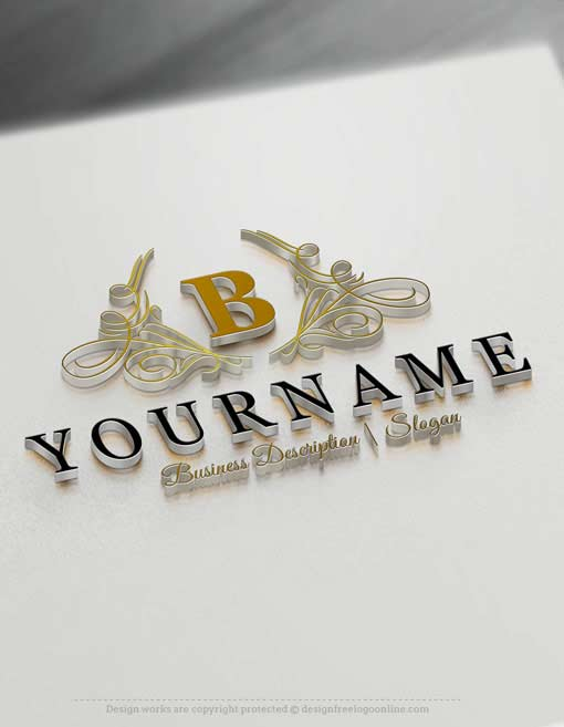 Luxury Lettering Logo Template