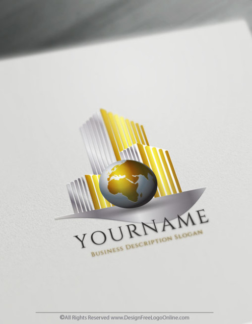 Design Free Logo Online - International Real Estate logo Design
