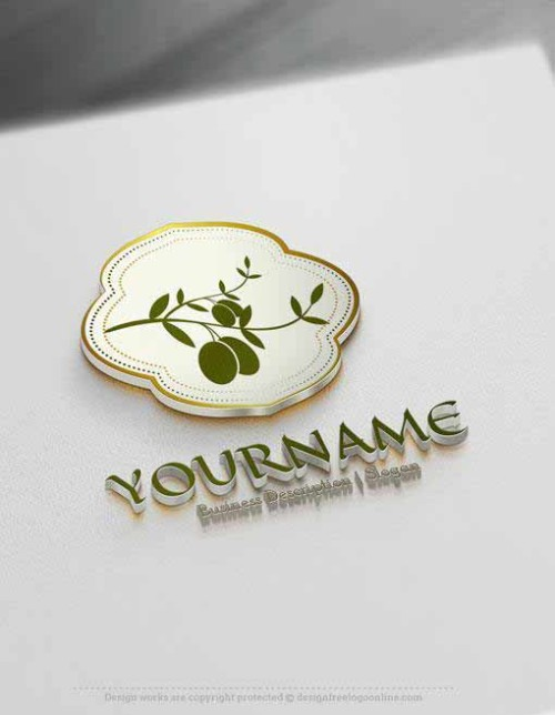 Create and Download your own Olive branch Logo designs with the best online logo Creator