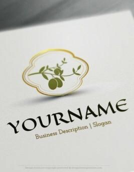 olive-logos-online-free-design