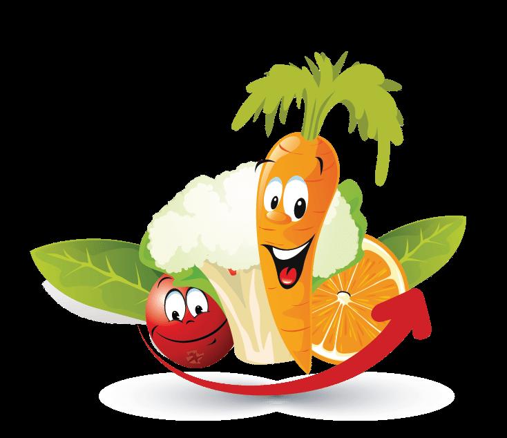 design free logo fruits vegetables online logo template