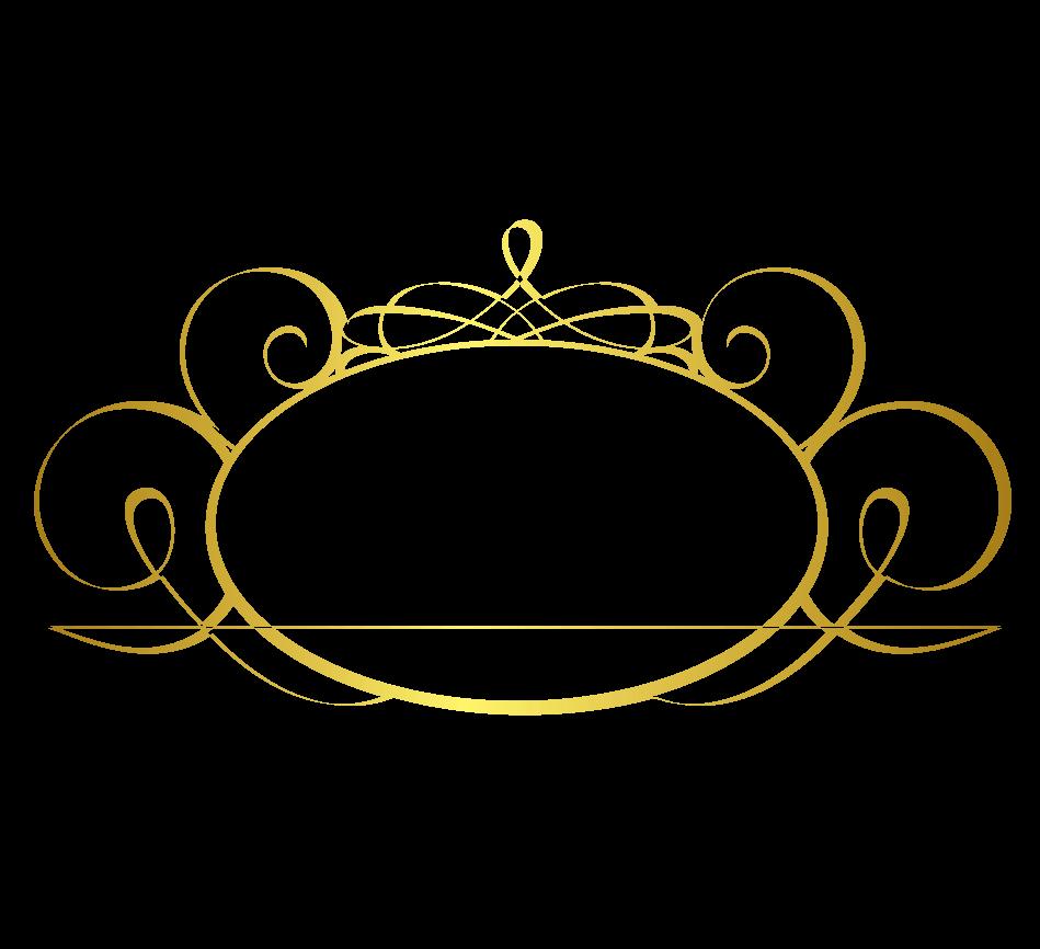 design free logo elegant frame logo template
