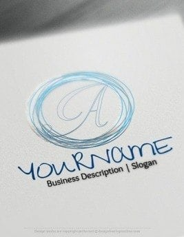 Create a Logo Design 100% free! Easily make your own Sketch Alphabet logo.