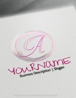 00538 LETTER logo design free logo online-3d2