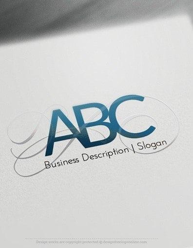 00541 LETTER 2d logo design free logo online-01