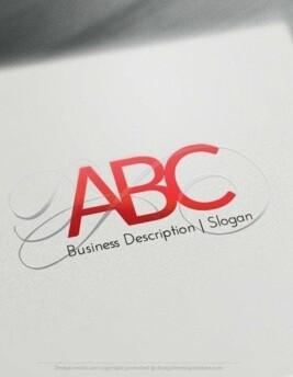 00541 LETTER 3d logo design free logo online-01