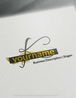 00542 LETTER 2Db logo design free logo online-03