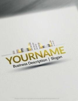 00543 2D Building logo design free logos online-03
