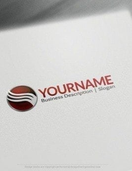 00544 2D Sphere and arrow logo design free logos online-04