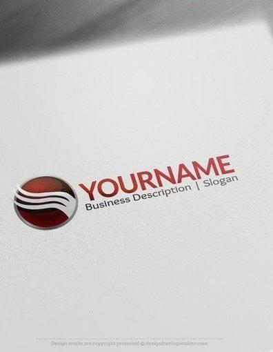 00544 2D Sphere and arrow logo design free logos online-04