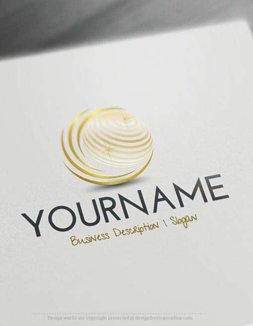 3D Globe Online Logos