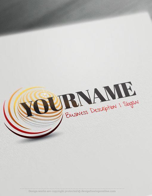 3D-Globe-Online-Template-Logo