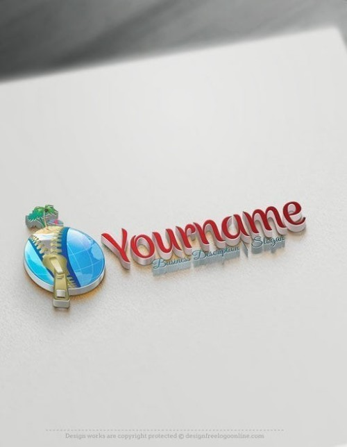 3D-Travel-Globe-Online-Logo-Template