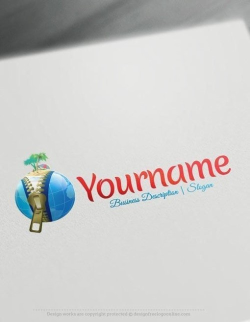 3D-Travel-Globe-Online-Logo-Templates
