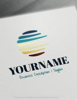 Abstract-Sketch-Online-Logo-Template
