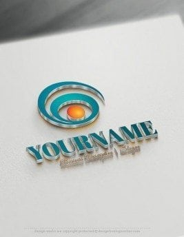 Abstract-spiral-Online-Logo-Template