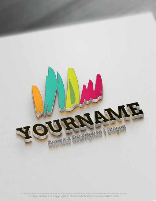 Art-Sketch-Online-Logo-Template