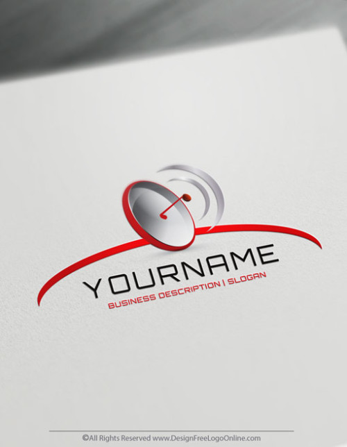 3D Logo Creator. Create cool Gps Radar logo ideas