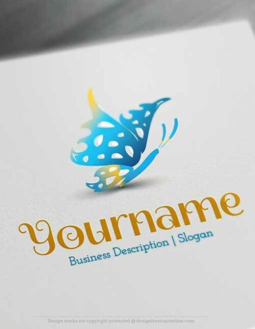 Butterfly-Logos-free-logo-maker