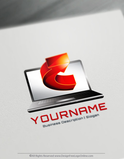 Design Your Own Online Computer Logo by using the best Technology Logo Maker