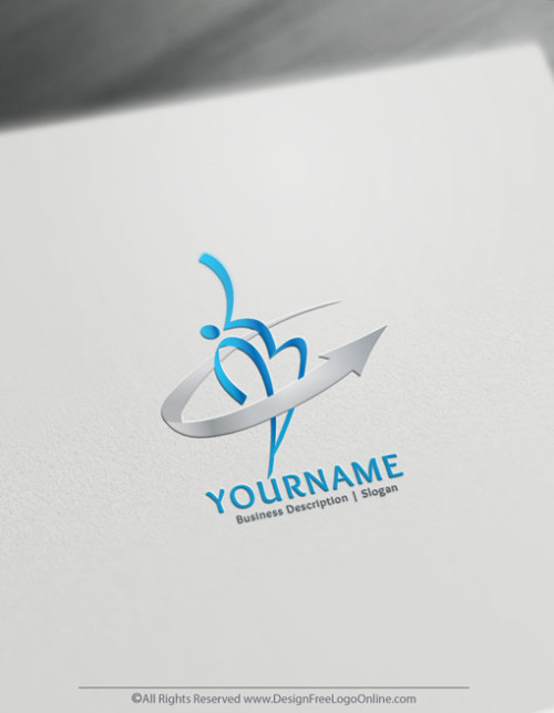 Create a Logo Online with the Human Logo Template