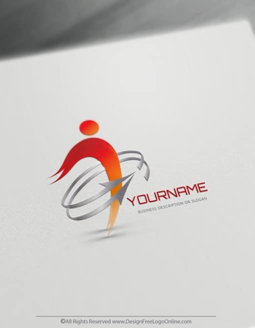 Creating Human Logos with our Free Logo Maker is fast and easy