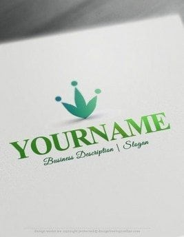 Crown-Online-Logo-Template
