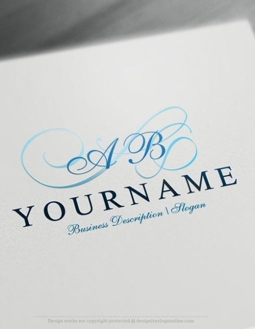 Decorative-alphabet-Logo-Template