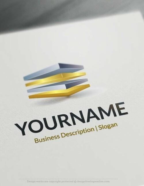 Design Free 3D Cubes Logo Templates