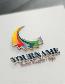Design-Free-3D-Art-Abstract-Logo-Template