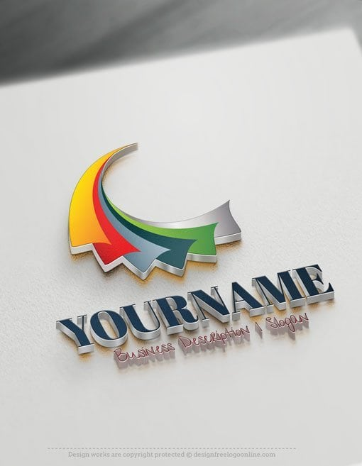Design-Free-3D-Art-Abstract-Logo-Template